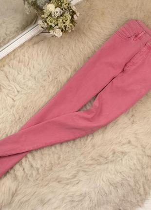 Качественные джинсы скини от m&s рр 8 наш 26-27