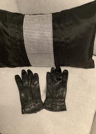 Кожаные перчатки размер м/s