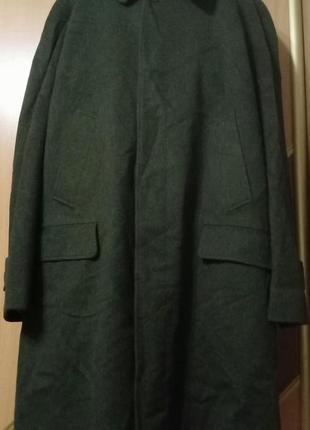 Винтажный тренч, пальто шерсть+альпака burberrys, burberry original london