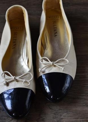 Шикарные балетки, туфельки от sultana. италия