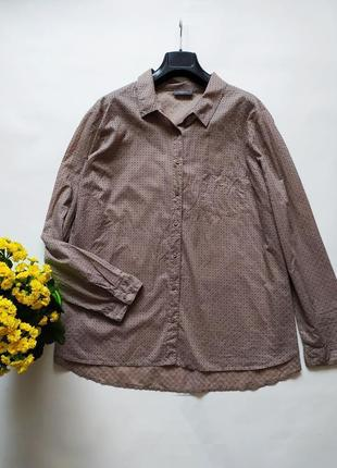Легкая рубашка тонкий хлопкок