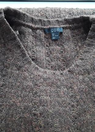 Cos платье,свитер,туника .шерсть,очень теплый.