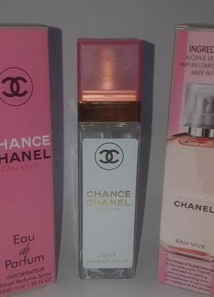 Мини парфюм дорожная версия 40 мл стойкие chance eau vive
