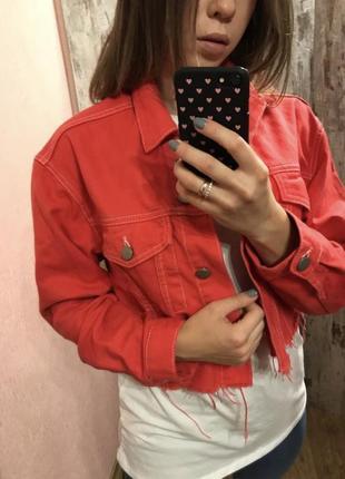 Джинсовка, джинсовый пиджак