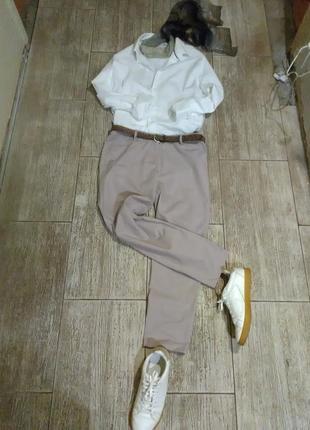 Женские,брюки,штаны,чиносы,зауженые,офисные,для офиса,посадка,хлопок,серые