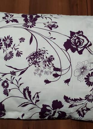 Наволочки - цветы на белом, быстрая отправка, все размеры