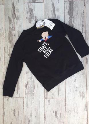 Детский свитер zara