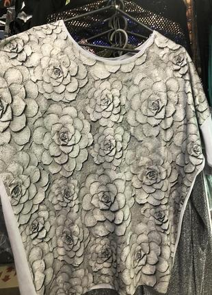 Серая блузка, футболка