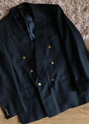 Стильный двубортный пиджак (xl)