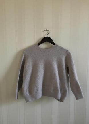 Шерстяной свитер cos с бантом