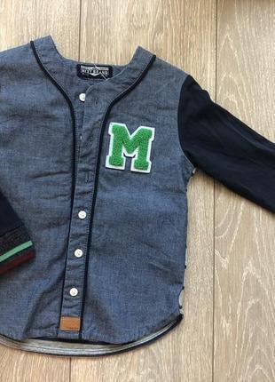 Рубашка пиджак next p.1-2года