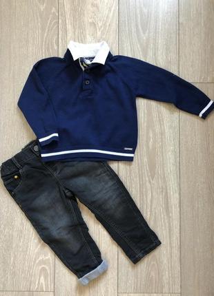 Реглан с рубашкой mayoral p.2 года 92см