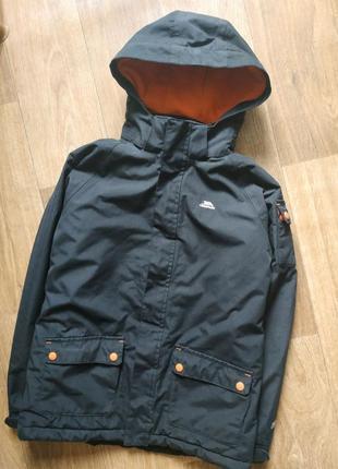 Зимняя термо мембранная лыжная куртка, курточка, парка, пуховик