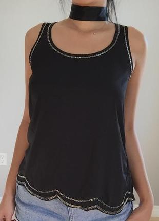 Блуза с бусинками h&m / большая распродажа!