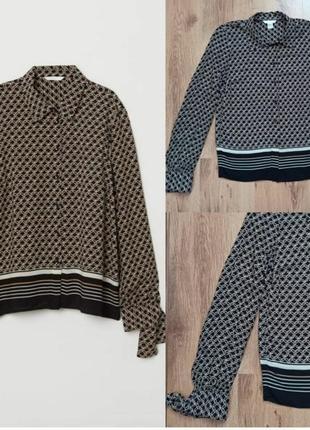 Стильна сукня принт геометрія