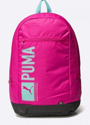 Новый спортивный рюкзак puma (оригинал). женский розовый рюкзак пума