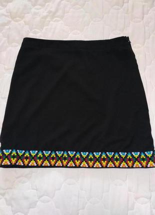 Юбка с вышивкой / орнаментом бренда hearts&bows