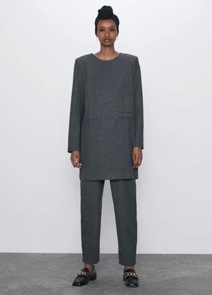 Zara новый крутой оригинальный костюм  размер s