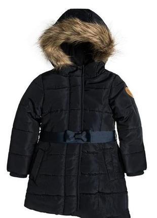Дуже тепле та стильне пальто для дівчинки від cool club by smyk.