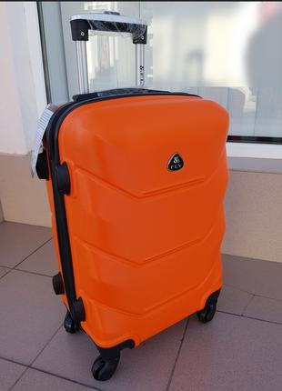 Чемодан дорожный фирмы fly147 orange