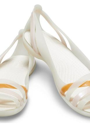 Женские балетки crocs isabella sandal, 39-40, w9