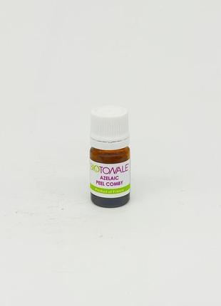 Бактерицидный себорегулирующий пилинг для лица на основе азелаиновой кислоты ph 2 %