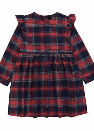 Плаття в кліточку для дівчинки george