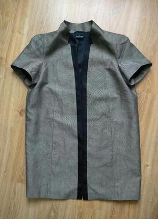 Blacky dress роскошный дизайнерский пиджак жакет кардиган