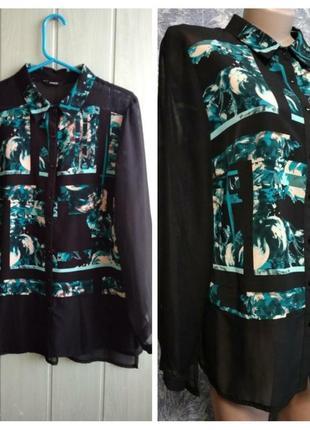 Стильная блуза интересного фасона