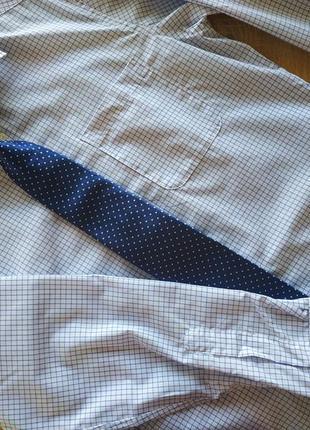 Мужская рубашка с галстуком