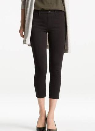 Джеггинсы кроп укороченные брюки штаны от uniqlo p. m