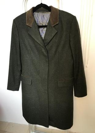 Мужское пальто шерсть кашемир schneiders salzburg