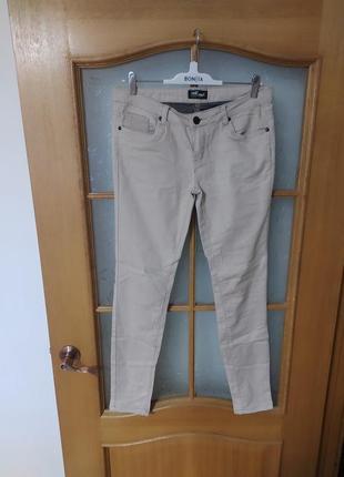 Базовые стрейчевые брюки штаны джинсы скини от vert de rage,p. 40