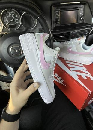 Nike air force shadow grey pink