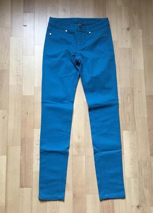 Штаны джинсы цвет больше бирюзова