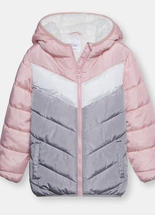 Куртка зимняя для девочки fox&banny sinsay 122