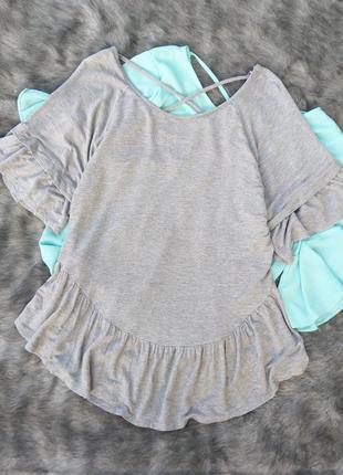 Блуза кофточка с драпировкой на спинке george