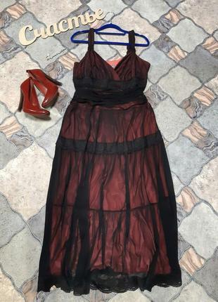 Очень красивое фирменное платье 50-52р