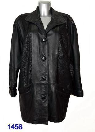 Yessica куртка женская кожаная
