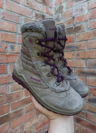 Зимние ботинки lowa klara gtx mid размер 33 (21 см.)