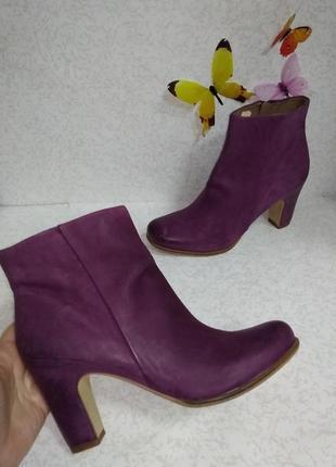 Кожаные ботинки ecco (эко) 40р.