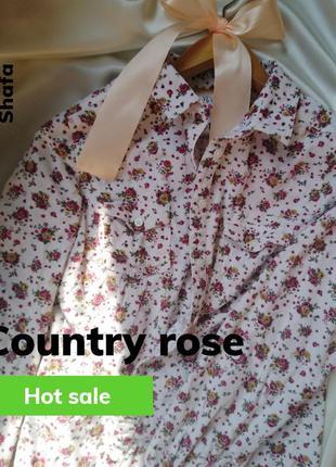 Рубашка country rose