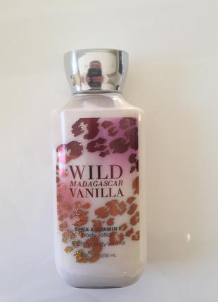 Лосьон для тела wild madagascar vanilla bath and body works
