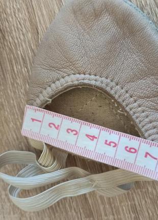 Чешки белые балетки получешки кожаные7 фото