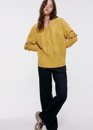 Теплый модный свитер размер хс-с superdry в составе шерсть