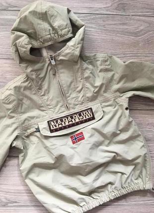 Куртка ветровка анорак napapijri рост 130