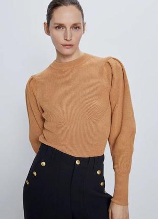 Шикарный модный свитер размер с  zara оригинал