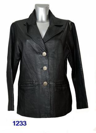 Outer edge куртка женская кожаная