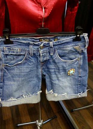 Replay винтажные джинсовые шорты