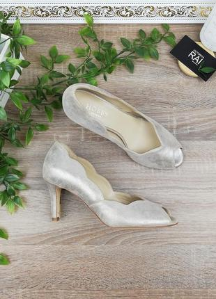 38🌿европа🇪🇺 hobbs. италия. кожа. женственные туфли на удобном каблучке